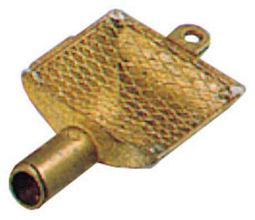 Allpa Messing zuigkorven met RVS filter   Diamter 25mm