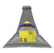 Allpa Vuilwatertank   100l  1100x1100mm  gewicht 1 3kg  driehoek