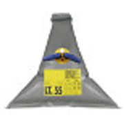 Vuilwatertank   100l  1100x1100mm  gewicht 1 3kg  driehoek