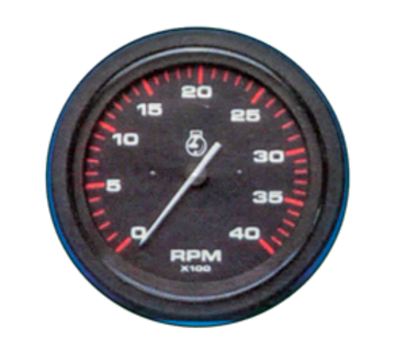 Allpa Brandstofniveaumeter Teleflex Amega Round  voor 90412/424k