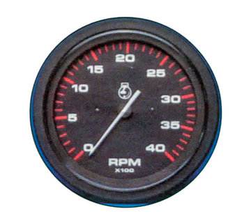 Allpa Oliedrukmeter 80 Psi Teleflex Amega Round