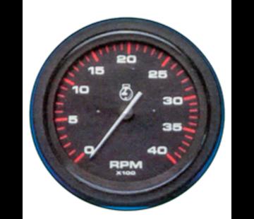 Allpa Oliedrukmeter 10 Bar Teleflex Amega Round