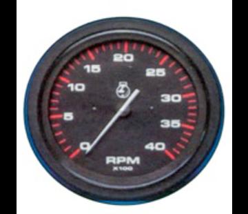 Allpa Toeren/urenteller 6000 Rpm Teleflex Amega Round 3