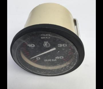 Allpa Toeren-/urenteller 4000 Rpm Diesel  Teleflex Amega