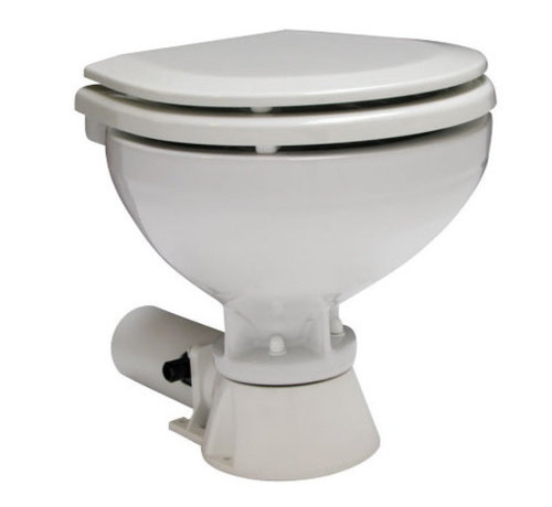 Allpa Allpa AquaT standard-electric scheepstoilet  24V/7A  compact pot met bedienpaneel