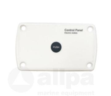 Allpa Schakelpaneel voor elektrisch toilet  12V & 24V  max. 20A