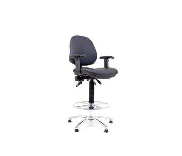 Exalto Hollex Delta II  stuurstoel Kunstleer Grijs