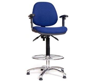 Exalto Stuurstoel Delta II / Stof Blauw