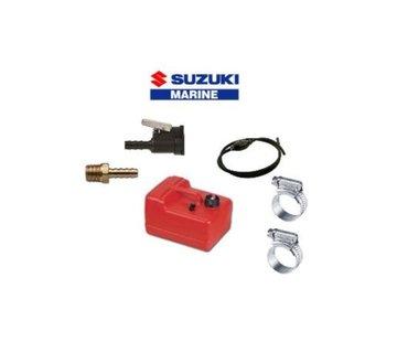 Exalto Brandstoftank Easterner voor Suzuki 12 liter compleet