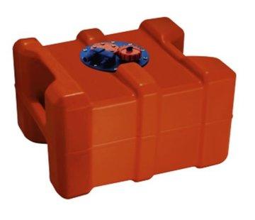 Allpa Brandstoftank kunststof 40L met flensplaat en handvatten
