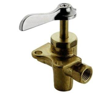 Allpa Messing 3-weg kraan  1/4  10-12mm