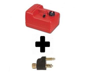 Exalto Brandstoftank Easterner + fuel connector
