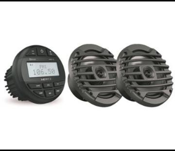 Hertz HMR 10 SET - DMR Radio + 2 speakers