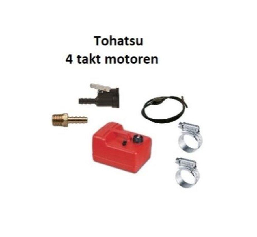 Brandstoftank Easterner voor Tohatsu 12 liter compleet