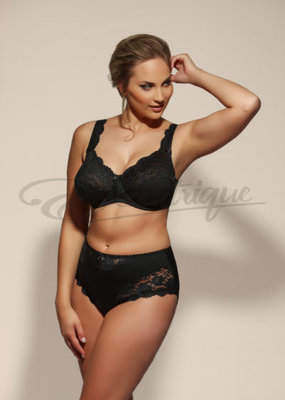 Plaisir - Beate Slip - Black :