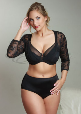 Plaisir - Bolero/Sleeves for dress - Black :