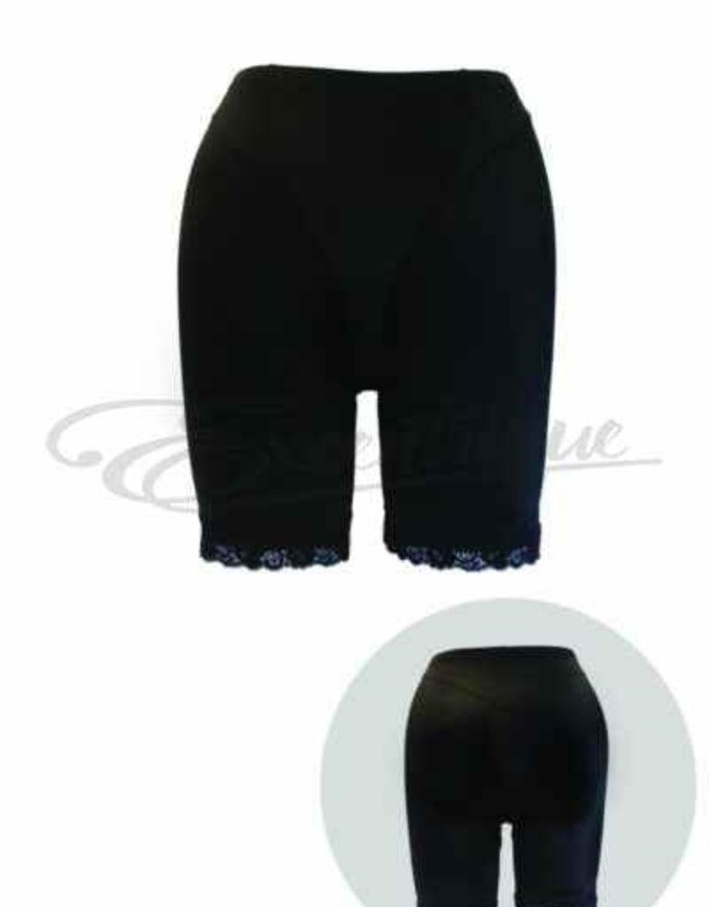 Plaisir - Maggie Luxueus anti schuurbroek - zwart :