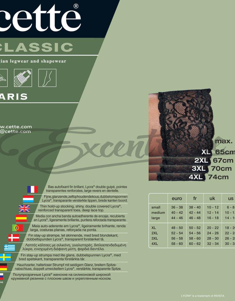 Cette Cette - Hold Up Paris Plus Size - 20D - Black