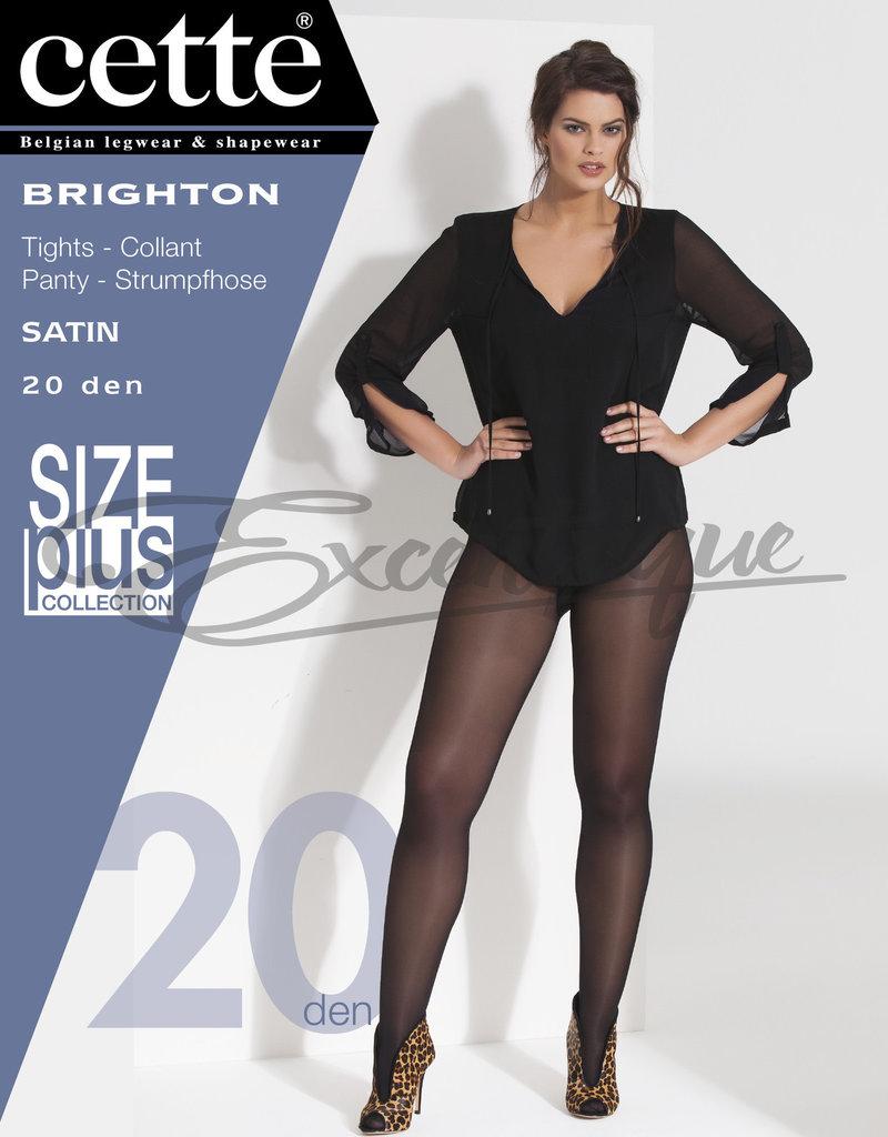 Cette Cette - Panty Brighton Plus Size - 20D - Navy