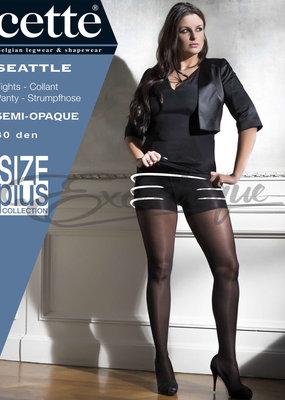 Cette Cette - Panty Seattle Plus Size - 30D - Taupe