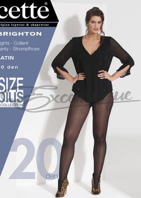Cette Cette - Panty Brighton Plus Size - 20D - Soleil
