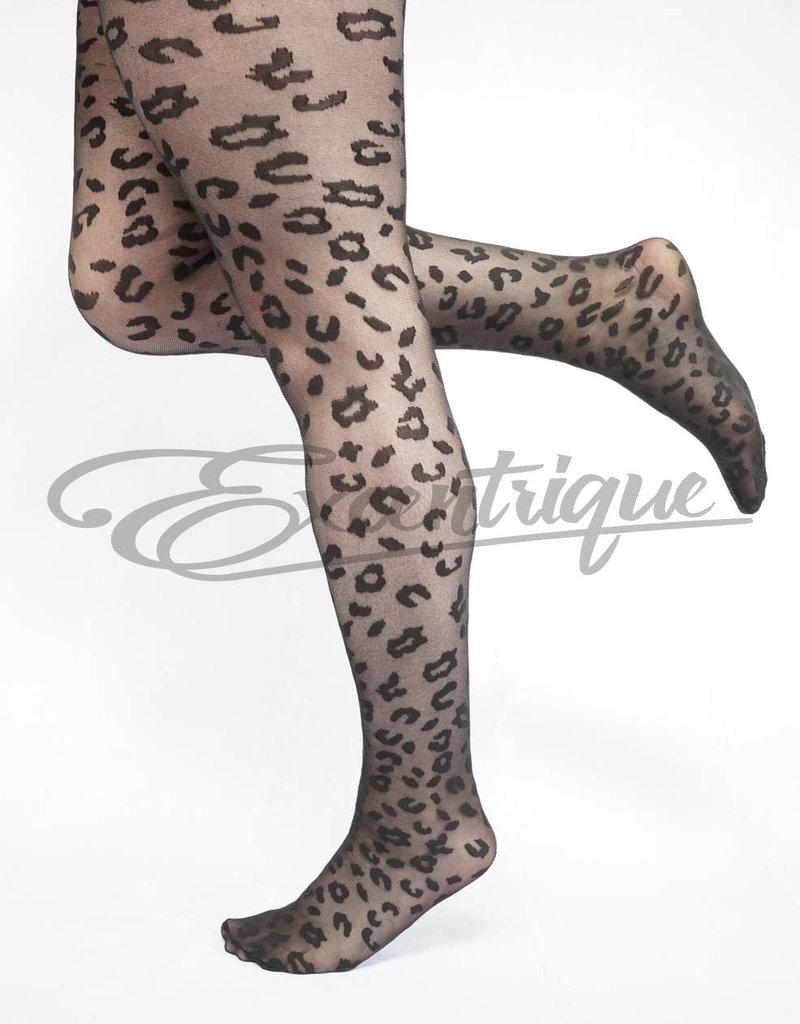 Pamela Mann Pamela Mann - Panty Leopard Pattern Curvy - 30D - Black