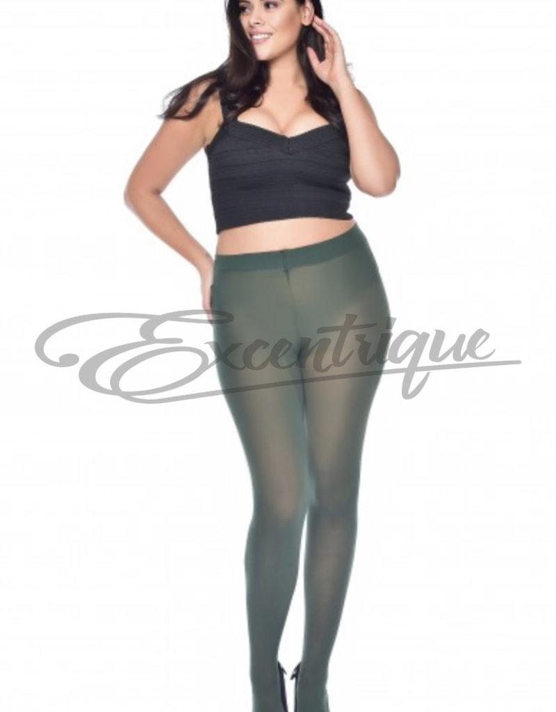 Pamela Mann Pamela Mann - Panty Curvy Super Stretch - 50D - Forest Green :
