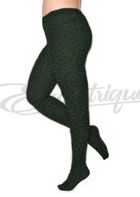 Pamela Mann Pamela Mann - Panty Leopard Pattern Curvy - 50D - Forest Green :