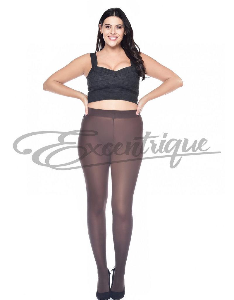 Miss Queen Pamela Mann - Panty Curvy Super Stretch - 50D - Chocolate :