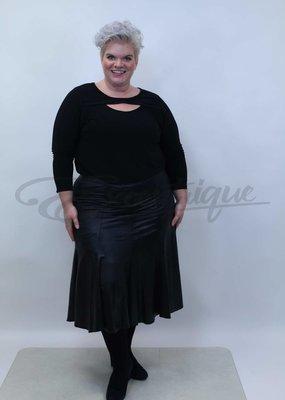 Magna Magna - Klokrok - Leatherlook Zwart :