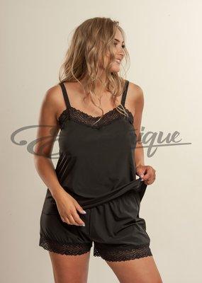 Plaisir - Renaissance Top&Short - 31.20432046.01 - Zwart :