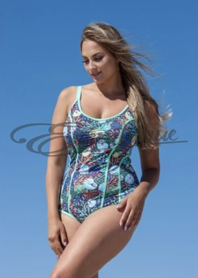 Plaisir - Swimsuit - Ocean Green :