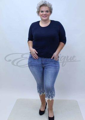Mozzaar Forever - Jeans 3/4 - Denim :