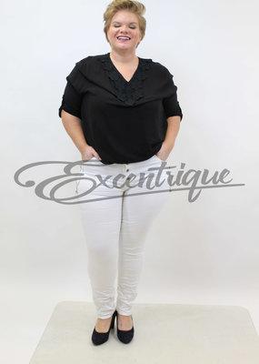 Karostar Karostar - Jeans - Wit :