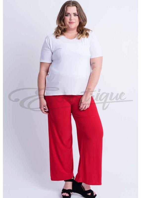 Magna - Pantalon - Rood :