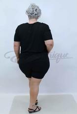 Magna - Shorts / Pantalon Kort - Zwart :