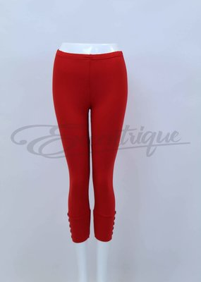 New Jersey - 3/4 Legging - Rood :