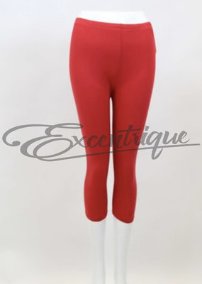 By Excentrique - 3/4 Legging - Rood :