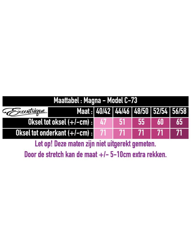 """Magna - Top """"C-73"""" - Uni Gebroken Wit :"""