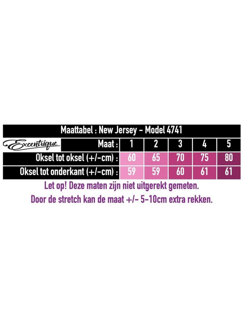 New Jersey - Jasje - Pink Spetter Zwart :