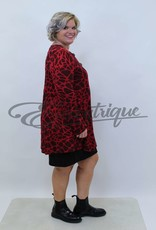 New Jersey - Vest +Size - Rood Zwart  :