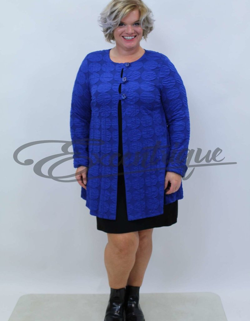 New Jersey - Vest +Size - Kobalt Bol :