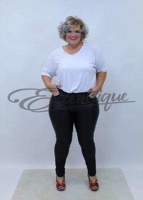 Goodies - Jeans -  Leatherlook Black  :