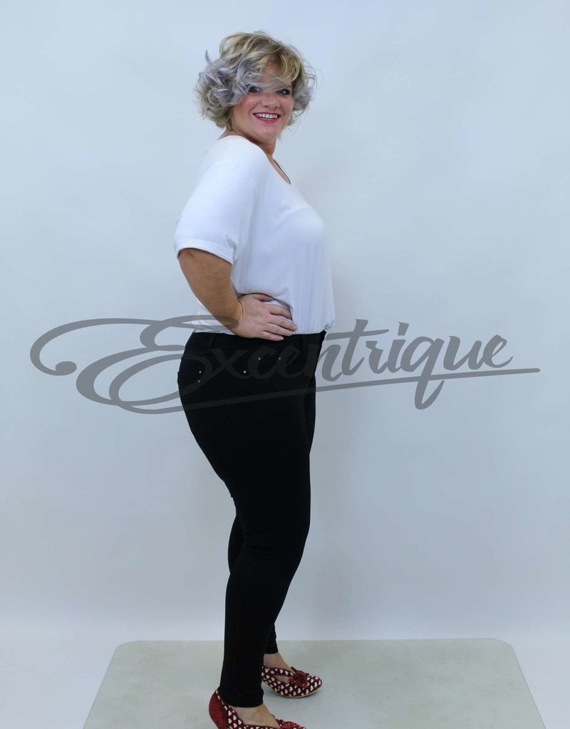 Miss Anna - Tregging - Black  :