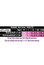 New Jersey - BallonJurk +-Size - Zwart Witte Stip :