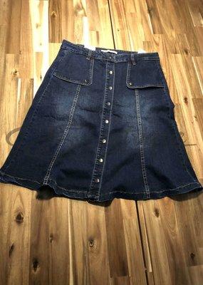 Colorful Premium Colorful Premium - Jeans Rokje - DenimBlue  :