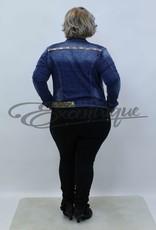 Mozzaar Forever - Jeans Jasje - DenimBlue  :