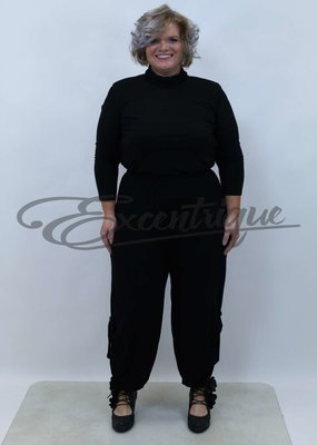 New Jersey - Pantalon - Zwart Uni :