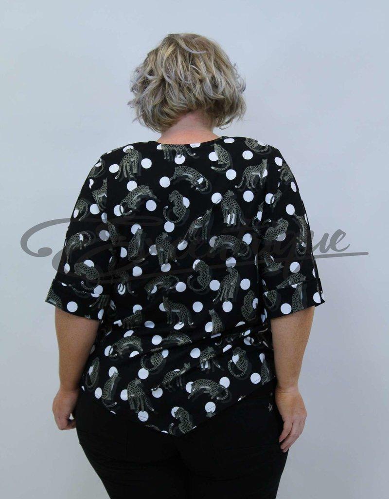 New Jersey - Shirt - Zwarte Stip Luipaard :