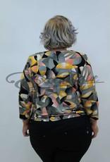 New Jersey - Shirt - Beige Brick Oker Print